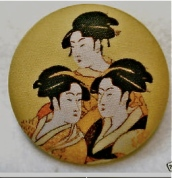 3 Geishas (Fabric)